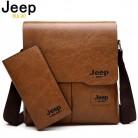 828.8 руб. 52% СКИДКА|Jeep buluo мужская сумка почтальонка 2 комплекта мужские сумки на плечо из искусственной кожи деловые сумки через плечо Повседневная сумка известного бренда ZH1505/8068 on Aliexpress.com | Alibaba Group