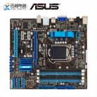 Asus P7H55 M рабочего Материнская плата H55 разъем LGA 1156 i3 i5 i7 DDR3 16 г SATA2 USB2.0 VGA, DVI, HDMI uATX купить на AliExpress