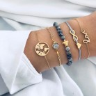 US $1.59 48% OFF|DIEZI Bohemian  Turtle Charm Bracelets Bangles For Women Fashion Gold Color Strand Bracelets Sets Jewelry Party Gifts-in Charm Bracelets from Jewelry & Accessories on Aliexpress.com | Alibaba Group