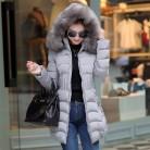 2109.04 руб. 49% СКИДКА|Новинка 2018, зимнее пальто с большим мехом, утепленная парка для женщин, облегающая Талия, тонкие длинные зимние пальто, пуховая Хлопковая женская пуховая парка, куртка-in Парки from Женская одежда on Aliexpress.com | Alibaba Group