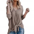 932.15 руб. 43% СКИДКА|2019 Модные женские весенние осенние кардиганы асимметричный дизайн свитер пальто с v образным вырезом женские очаровательные Топы-in Кардиганы from Женская одежда on Aliexpress.com | Alibaba Group