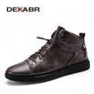 3343.3 руб. |DEKABR/мужские ботинки, осенне зимние ботинки для мужчин, теплая Повседневная обувь на меху, Модные непромокаемые зимние ботинки для мужчин, размер 39 44-in Базовые сапоги from Туфли on Aliexpress.com | Alibaba Group