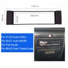 409.5 руб. 5% СКИДКА|1Din облицовка для Fiat Scudo Audi A3 (8L) A6 (4B) сиденье Toledo Leon радио CD DVD стерео панель тире крепление отделка комплект рамка пластина-in Панели from Автомобили и мотоциклы on Aliexpress.com | Alibaba Group