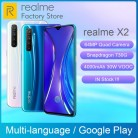 Global Version REALME X2 6.4''AMOLED Screen Snapdragon 730G 64MP Quad Camera NFC OPPO VOOC 30W Fast Charger Moblie Phone on AliExpress