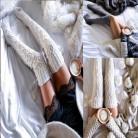 254.6 руб. |2018 брендовые новые женские ботфорты выше колена, высокие чулки, вязаные, элегантные хлопковые зимние теплые чулки купить на AliExpress