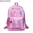 707.78 руб. 32% СКИДКА|Мини дорожные сумки Серебряный Синий Розовый лазерный рюкзак женская сумка для девочек из искусственной кожи голографический рюкзак школьные сумки для девочек подростков купить на AliExpress