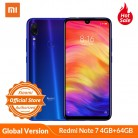 US $165.8 19% OFF|Global Version Xiaomi Redmi Note 7 4GB 64GB Mobile Phone 48MP 13MP Camera 6.3'' Water Drop Screen Snapdragon 660 4000mAh CE FCC-in Cellphones from Cellphones & Telecommunications on AliExpress - 11.11_Double 11_Singles' Day