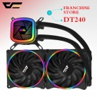 US $48.71 62% OFF|Aigo darkflash T120/240 pc case water cooling computer fan CPU integrated water cooling Cooler For LGA 775/115x/AM2/AM3/AM4 -in Fans & Cooling from Computer & Office on Aliexpress.com | Alibaba Group