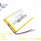 420.62 руб. 35% СКИДКА|Литиевая батарея 357095 3,7 в 4000 мАч (полимерный литий ионный аккумулятор) литий ионный аккумулятор для планшетного компьютера 7 дюймов MP3 MP4 357096-in Батареи для планшетов и резервное питание from Компьютер и офис on Aliexpress.com | Alibaba Group