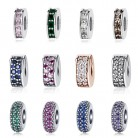 US $2.35 43% OFF|100% 925 Sterling Silver Beads Charm Shining Elegance Clips Pave CZ Charms Fit Original Pandora Bracelets Women Diy Jewelry-in Beads from Jewelry & Accessories on Aliexpress.com | Alibaba Group