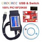 603.53 руб. 20% СКИДКА|100% PIC18F25K80 чип ELM327 V1.5 USB Переключатель ELM 327 может/MS может для Forscan OBD2 диагностический сканер, бесплатная доставка-in Считыватели кодов и сканирующие инструменты from Автомобили и мотоциклы on Aliexpress.com | Alibaba Group