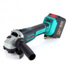 12000r/min Cordless Electric Angle Grinder Power Cutting Tool with 3 125mm Cutting Wheels Rechargable Speed Adjustable