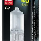 Купить Лампа галогенная Акцент G9, JCD, 40Вт по низкой цене с доставкой из маркетплейса Беру