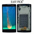 ЖК дисплей Дисплей Сенсорный экран с рамкой для LG Magna LTE G4c H500F H502F H500R H500N H500 Y90 купить на AliExpress