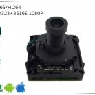 1136.24 руб. 14% СКИДКА|IMX323 + 3516E 1080 P H.265/H.264 IP Камера модуль доска с M12 объектив IRC FishEye панорама 180 градусов 2,8 12 мм XMEYE CMS ONVIF-in Камеры видеонаблюдения from Безопасность и защита on Aliexpress.com | Alibaba Group