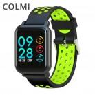 2095.51 руб. 38% СКИДКА|COLMI Смарт часы водонепроницаемые IP68 сердечного ритма артериального давления крови кислородом Спорт Сигнализация шагомер Для мужчин Для женщин часы для iOS Android купить на AliExpress
