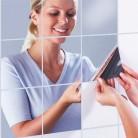126.25 руб. 10% СКИДКА|15X15 см отражающее зеркало квадратная наклейка для ванной комнаты креативное украшение дома-in Декоративные зеркала from Дом и сад on Aliexpress.com | Alibaba Group