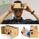 244.3 руб. 15% СКИДКА|Floveme Горячая DIY картона VR коробка виртуальной реальности 3D Очки Высокое качество для 3.5 5.1 дюймов смартфон мобильный телефон 3D просмотра купить на AliExpress
