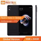 12128.93 руб. |Xiaomi Redmi Note 5 смартфон глобальная версия 4 Гб 64 Snapdragon 636 Octa Core 5,99