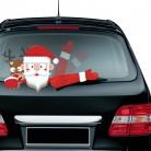 US $3.99 |يلوحون البسيطة سانتا كلوز عيد الميلاد الجدة ملصقا ل سيارة الخلفية ماسحة الزجاج الأمامي Accesorries عيد الميلاد-في تعليقات وحلية متدلية من المنزل والحديقة على Aliexpress.com | مجموعة Alibaba