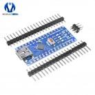 124.26 руб. 21% СКИДКА|Мини USB CH340 Nano v3.0 3,0 ATmega328P плата контроллера Совместимость для Arduino Nano CH340 Драйвера USB нано V3.0 ATmega328-in Интегральные схемы from Электронные компоненты и принадлежности on Aliexpress.com | Alibaba Group