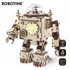 1840.15 руб. 40% СКИДКА|Robotime креативный DIY 3D стимпанк робот игра деревянная головоломка в сборе музыкальная шкатулка игрушка подарок для детей подростков взрослых AM601-in Пазлы from Игрушки и хобби on Aliexpress.com | Alibaba Group