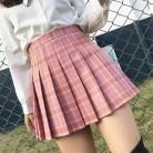 421.52 руб. 11% СКИДКА|XS 2XL Harajuku 2019 для женщин Мода Лето Высокая талия танец плиссированные saia ветер косплэй клетчатая юбка kawaii женские юбки для купить на AliExpress