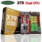 12571.0 руб. 25% СКИДКА|Купить со скидкой материнской новый бренд HUANAN Чжи двойной X79 LGA2011 плата поддерживает 4*32G 128G DDR3 1866 МГц памяти SATA3.0 портов купить на AliExpress