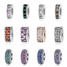 100% 925 Sterling Silver Beads Charm Shining Elegance Clips Pave CZ Charms Fit Original Pandora Bracelets Women Diy Jewelry-in Beads from Jewelry & Accessories on Aliexpress.com | Alibaba Group