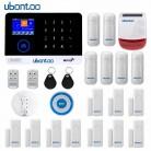 3705.63 руб. 30% СКИДКА|Ubontoo Беспроводная SIM GSM домашняя RFID защита от взлома сенсорная клавиатура Аварийная сигнализация wifi GSM сенсор комплект много стран голоса-in Комплекты для системы сигнализации from Безопасность и защита on Aliexpress.com | Alibaba Group