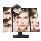 1304.36 руб. 31% СКИДКА|Светодиодный сенсорный экран 22 зеркало для макияжа с лампой Настольный макияж 1X/2X/3X/10X увеличительные зеркала туалетный столик 3 Складные регулируемые зеркала-in Зеркала для макияжа from Красота и здоровье on Aliexpress.com | Alibaba Group