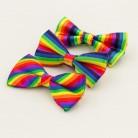 149.25 руб. 14% СКИДКА|Модный, радужный галстук бабочка. для мужчин и женщин. купить на AliExpress