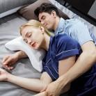 Изогнутая подушка из пены с эффектом памяти с медленным восстановлением анти-давление, защита рук, шеи и мертвой руки, парная Подушка для оф...