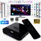H96 Mini Android 9.0 Smart TV BOX  RK3328A Quad Core OTT TV BOX 2.4G/5G Wifi 4KAndroid TV Box Ultra HD Media Player Set Top Box on AliExpress