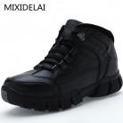 MIXIDELAI/очень теплые зимние мужские ботинки из натуральной кожи, Мужская зимняя обувь, мужские ботинки на меху в стиле милитари, мужская обувь, zapatos hombre купить на AliExpress