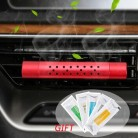 Автомобильный ароматизатор FORAUTO с 5 бесплатными ароматическими палочками, автомобильный освежитель воздуха на выходе, зажим для ароматерап...