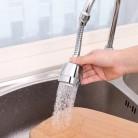 Гибкий кран расширитель нержавеющая сталь 360 Вращающийся аэратор кран фильтр адаптер распылительная головка кухонные аксессуары для ванно...