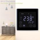 1451.52 руб. 25% СКИДКА|Floureon Нагревательный термостат Еженедельный программируемый Температура контроллер термометр Сенсорный экран напольного терморегулятор купить на AliExpress