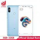 9065.31 руб. |Глобальный Встроенная память Xiaomi Redmi Note 5 3 GB Оперативная память 32 ГБ Встроенная память Snapdragon 636 Octa Core MIUI9 5,99
