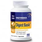 Enzymedica, Digest Basic, формула основных ферментов, 90 капсул