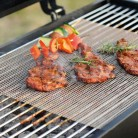 Onner BBQ Barbecue Grill mat,Stainless Steel Wire Mesh (Square 36cm x 42cm)