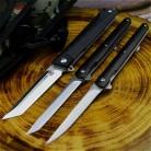 PEGASI японский охотничий D2 60HRC быстро открывающийся G10 складной нож из черного дерева складной нож для наружного зеркала легкий тактический н...