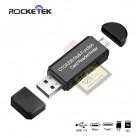 Rocketek usb 2.0 3.0 قارئ بطاقات الذاكرة نوع c OTG أندرويد محول cardreader ل مايكرو SD/TF مايكرو SD القراء الكمبيوتر المحمول