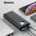 1771.23 руб. 30% СКИДКА|Baseus 20000 мАч запасные аккумуляторы для телефонов iPhone samsung huawei Тип C PD Быстрая зарядка + Quick Charge 3,0 USB внешний батарея купить на AliExpress