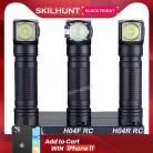Skilhunt H04 H04R H04F RC 1200 люмен два пользовательских пользовательского интерфейса USB Магнитный перезаряжаемый светодиодный фонарик для охоты кемп...