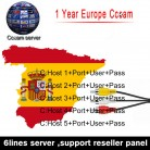 US $6.5 |HD cccam Cline for 1 year Europe Free Satellite ccam Account Share Sever Italy/Spain/French/Germany IKS 1year TV 6 Cable-in Satellite TV Receiver from Consumer Electronics on Aliexpress.com | Alibaba Group