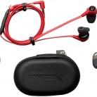 Наушники с микрофоном HYPERX Cloud Earbuds, 3.5 мм, красный