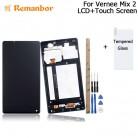 3063.19 руб. |Remanbor для Vernee Mix 2 ЖК дисплей + сенсорный экран с рамкой в сборе запасные части + Инструменты + клей + пленка для Vernee Mix 2 купить на AliExpress