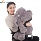 € 7.93 |BOOKFONG 40/60 cm elefante de peluche de felpa suave apaciguar elefante Playmate muñeca calma bebé juguete elefante almohada juguetes de peluche muñeca de peluche-in Peluches y muñecos de peluche from Juguetes y pasatiempos on Aliexpress.com | Alibaba Group