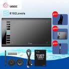 3153.7 руб. 28% СКИДКА|Ugee M708 цифровой планшетный Графика планшет для рисования